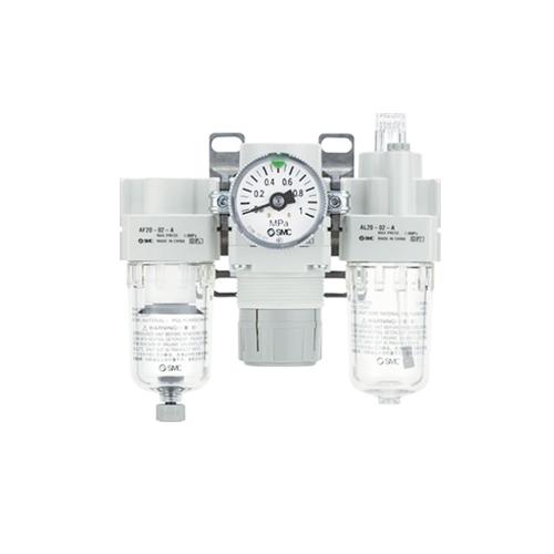 Válvulas para filtración SMC
