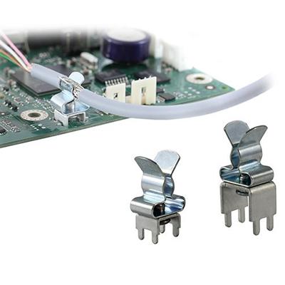 Pinzas pasacables con compatibilidad EMC