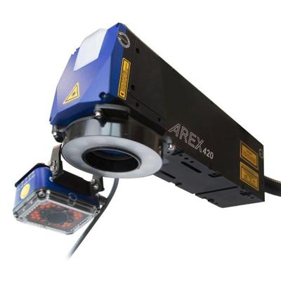 Sistema de marcado láser Datalogic Arex 420 y Matrix 300
