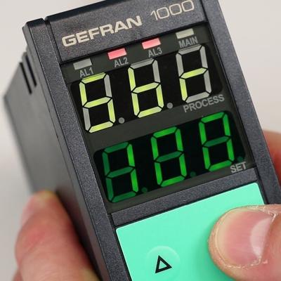 Controlador de temperatura Gefran 1000