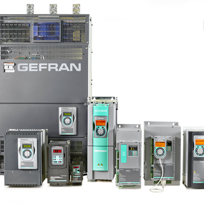 Variadores de frecuencia Gefran