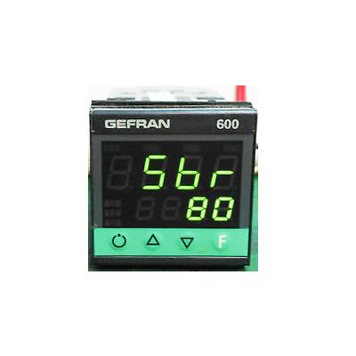 Controlador de temperatura Gefran 600