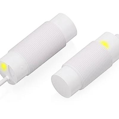 sensores inductivos resistentes PVDF anticorrosión