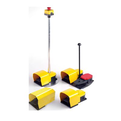 pedales de seguridad dobles modulables Pizzato PX