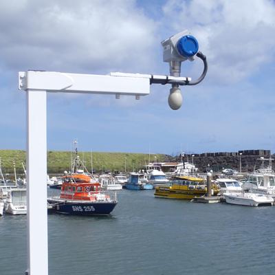 Radar sin contacto Krohne Optiwave para agua salada