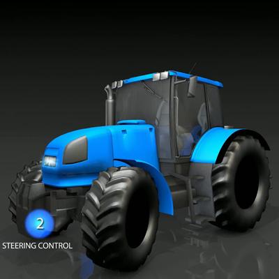 Sensor de posición para tractor