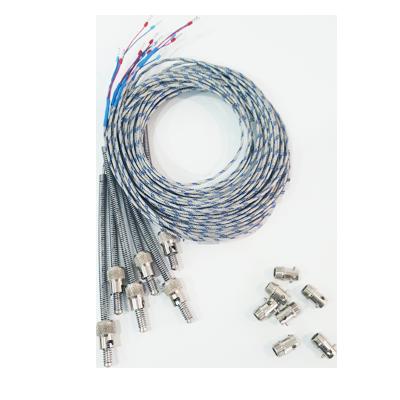 Termopares con cable calefactable